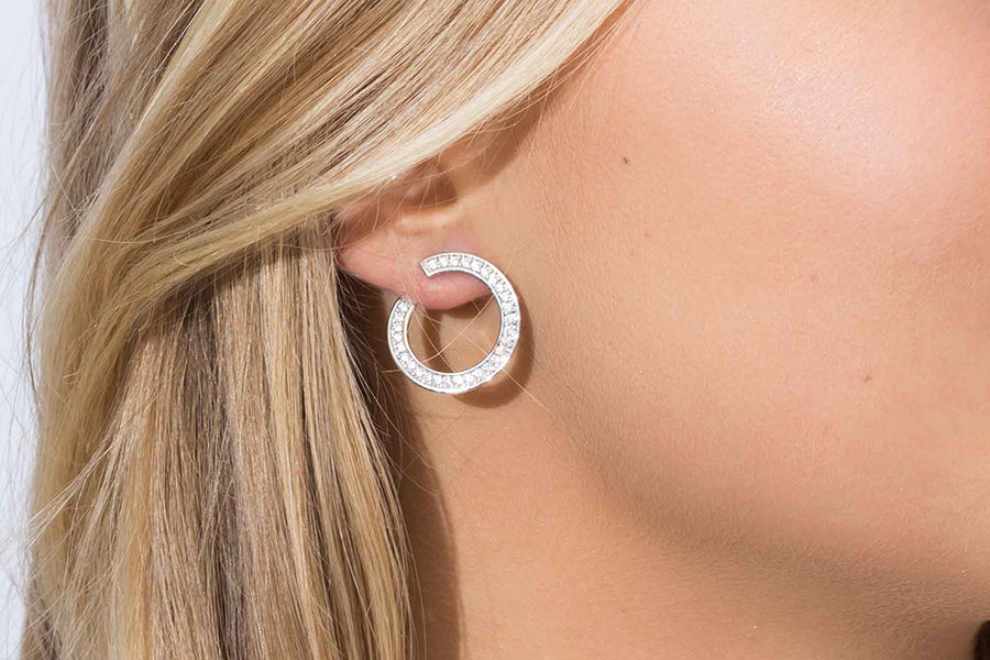 Earrings Valiano Circolo CZ