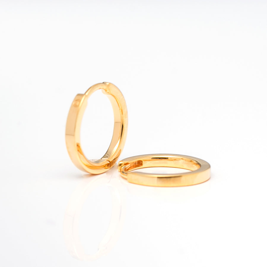 Earrings Ellera Pianura - 18k gold plated