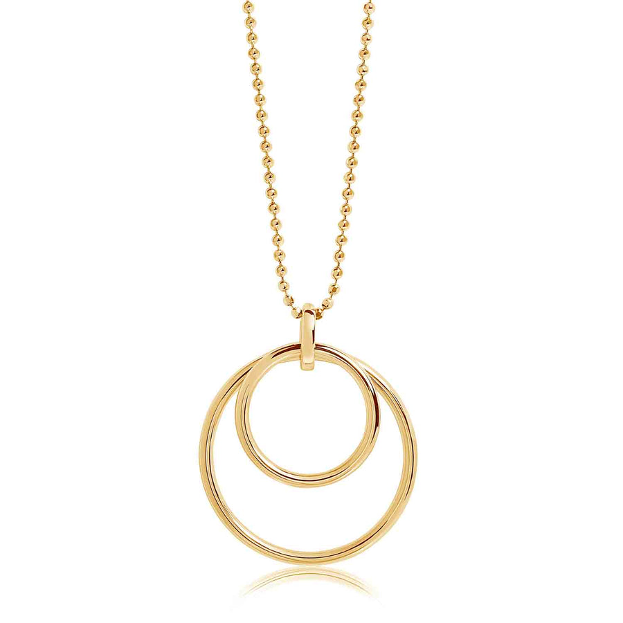 Pendant Valenza Pianura- 18k gold plated