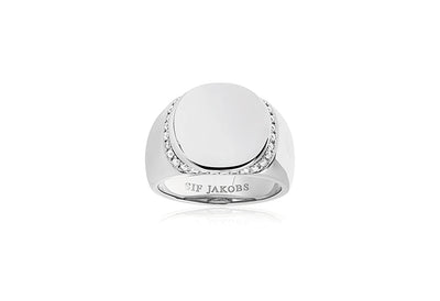 Ring Follina with white zirconia (48)
