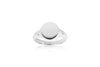Ring Follina Pianura Piccolo with white zirconia - Sif Jakobs Jewellery