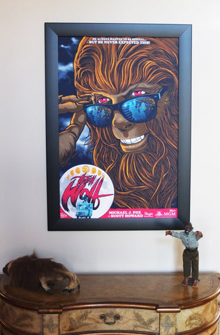 Teen Wolf by Ghoulish Gary - skuzzles limited edition screen print movie poster