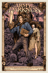 Army of Darkness -Chris Weston - Skuzzles Limited Edition Screen Print