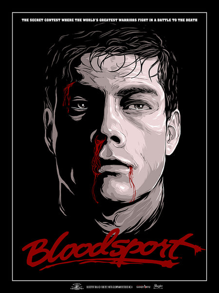 Bloodsport by Randy Ortiz @ Skuzzles