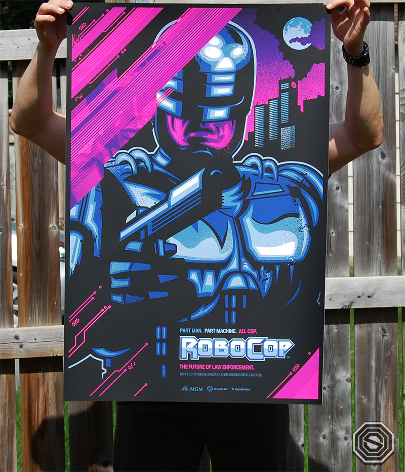 Skuzzles Robocop by James White of Signalnoise Variant Detailed photo