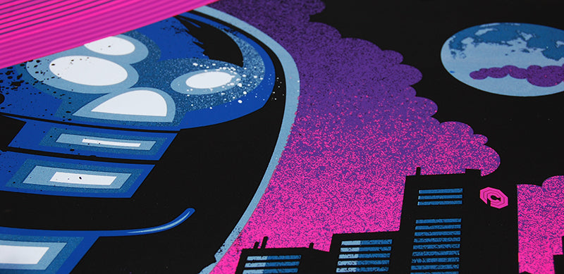 Skuzzles Robocop by James White of Signalnoise Variant closeup