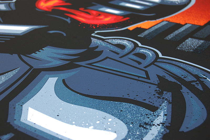 Skuzzles Robocop by James White of Signalnoise Regular closeup