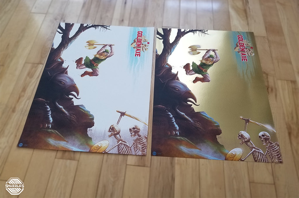 Golden Axe (SEGA) by Mike Saputo - Limited edition screen print video game poster
