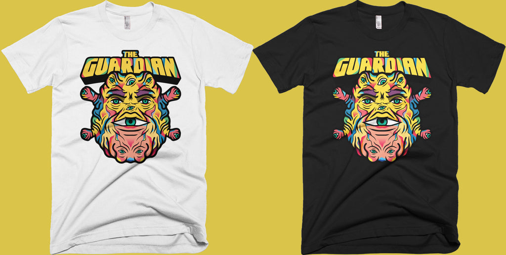 Skuzzles - Van Orton Design - The Guardian - Limited Edition Tshirt