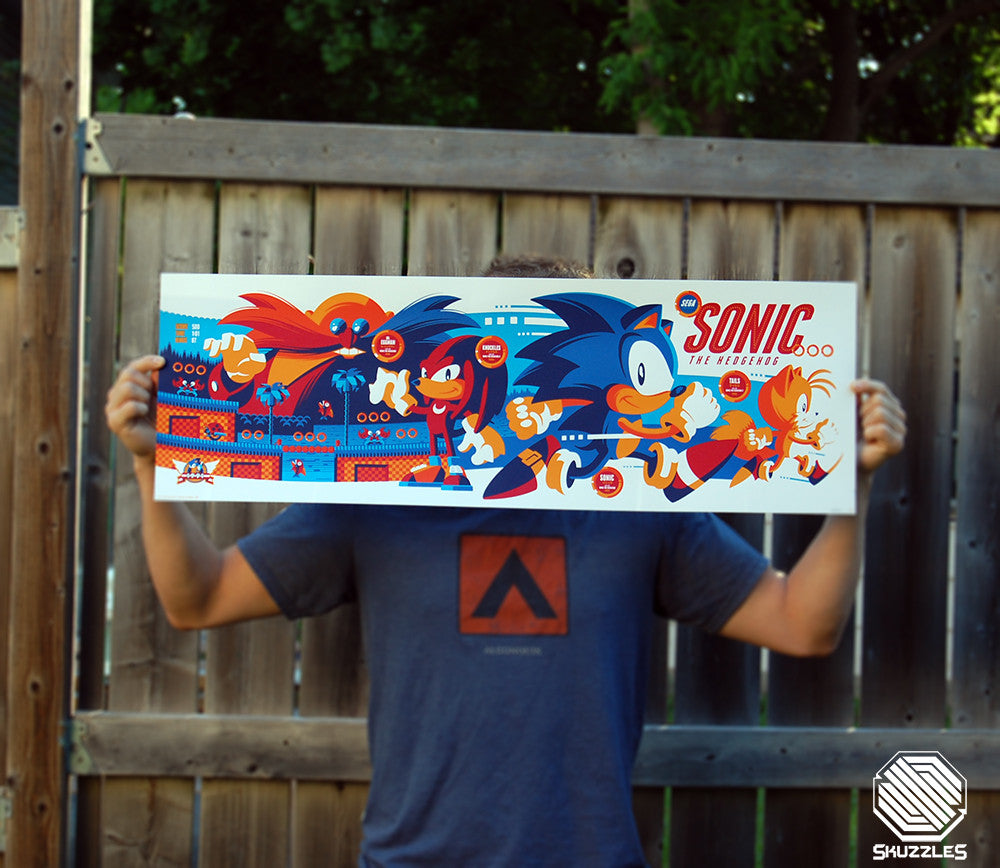 Sonic The Hedgehog - Skuzzles by Tom Whalen - Regular Edition Photo