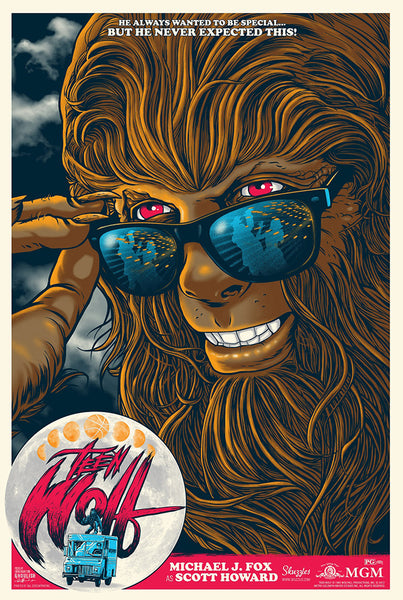 Teen Wolf by Ghoulish Gary at Skuzzles