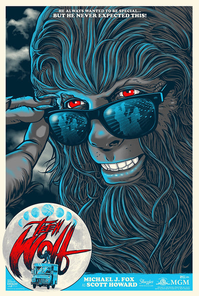 Teen Wolf by Ghoulish Gary at Skuzzles GID