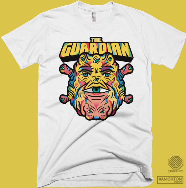 Skuzzles - Van Orton Design - The Guardian - Limited Edition Tshirt - White
