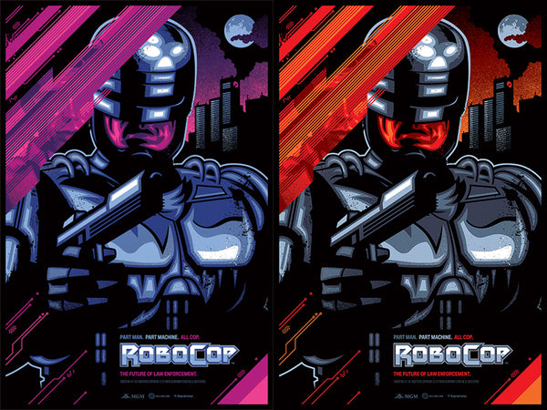 Skuzzles Robocop by James White of Signalnoise Side by Side