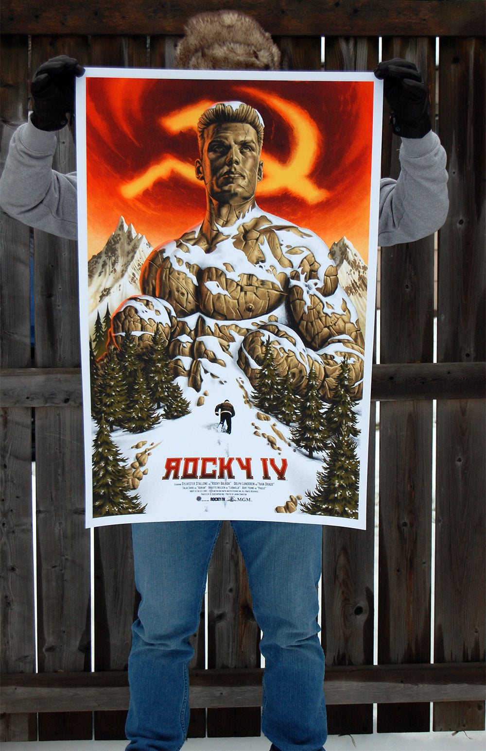 Rocky IV by Jason Edmiston - Skuzzles - Regular Edition