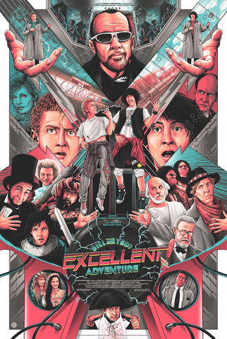 Bill & Ted's Excellent Adventure - Movie Poster - Regular