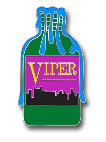 Pin - Street Trash - Viper - Limited Edition Enamel Lapel Pin