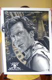 Limited edition screen print movie poster - jeff boyes - Army Of Darkness - Variant