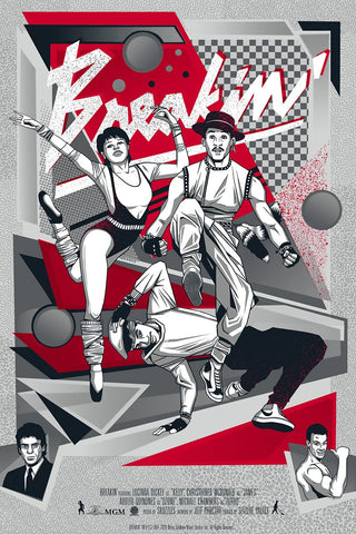 Poster - Breakin' Movie Poster - Regular