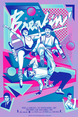 Poster - Breakin' Movie Poster - Variant