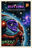 Limited edition screen print movie poster - jason edmiston - Killer Klowns From Outer Space 25th Anniversary - Regular