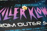 Limited edition screen print movie poster - jason edmiston  Killer Klowns From Outer Space 25th Anniversary - Regular