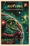 Limited edition screen print movie poster - jason edmiston  Killer Klowns From Outer Space 25th Anniversary - Variant