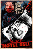 Limited edition screen print movie poster - francesco francavilla  - Motel Hell - Francesco Francavilla - Foil Cleaver