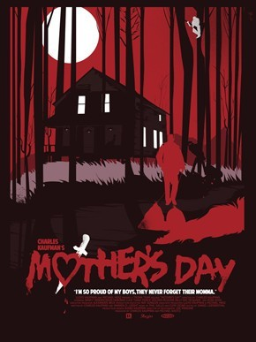 Limited edition screen print movie poster - fernando reza - Mother's Day (TROMA)