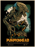 Poster - Pumpkinhead Movie Poster - Black - Metallic  Variant