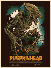 Pumpkinhead Movie Poster - Alexander Iaccarino - That Kid of Draws - Skuzzles 2016