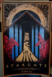 Limited edition screen print movie poster - kilian eng - Stargate (1994) - Metallic Variant