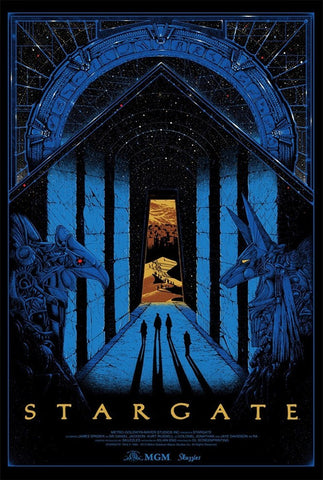 Limited edition screen print movie poster - kilian eng - Stargate (1994) - Regular