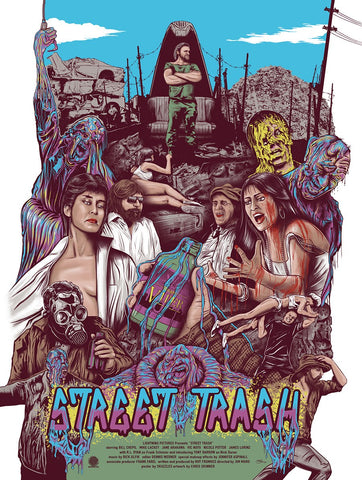 Poster - Street Trash (1987) Limited Edition Movie Poster - Regular