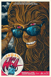 Limited edition screen print movie poster - gary pulin - Teen Wolf (1985) - Regular