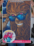 Limited edition screen print movie poster - ghoulish gary - Teen Wolf (1985) - Regular