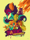 Limited edition screen print movie poster - tom whalen - The Toxic Crusaders - Regular