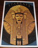 Limited edition screen print movie poster - todd slater - Stargate (1994) - Regular