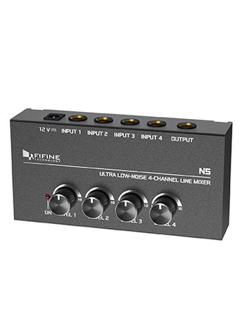 Mixer/Headphone Amplifier