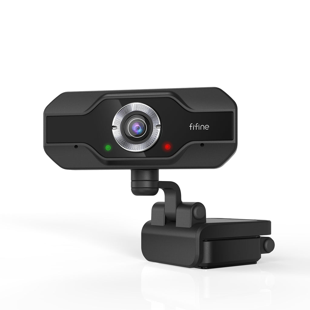 FIFINE K432 USB Webcam with 1080P Resolution, Plug & Play on PC and Mac for Streaming, Conferencing