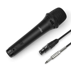 FIFINE Dynamic Vocal Microphone (Double-copper braiding Cable Included) Plug & Play on PA, Mixer-K8
