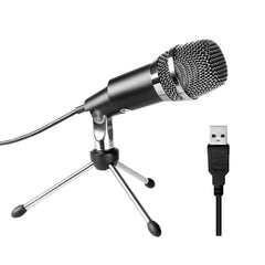 FIFINE USB Microphone Plug & Play with Windows/Mac for Gaming, Voice-over, Video Call-K668