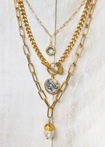 Gold Taylor chain necklace for women