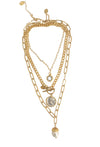 "chain necklace for women 15.5"" long"