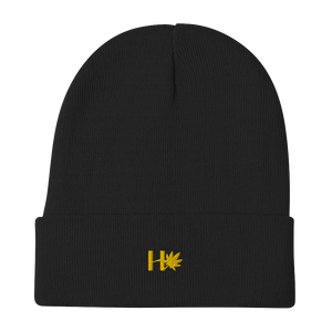 Herbhack Embroidered Beanie