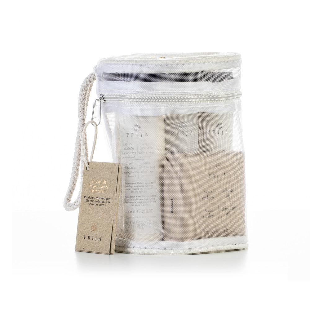 PRIJA Carry On Kit For Hair & Body