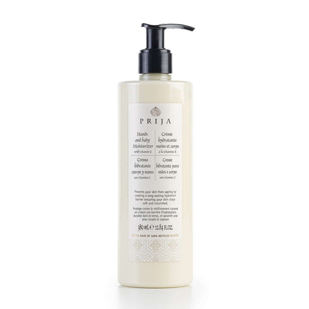 PRIJA HAND AND BODY MOISTURIZER (12.84 fl.oz, us/380 ml)