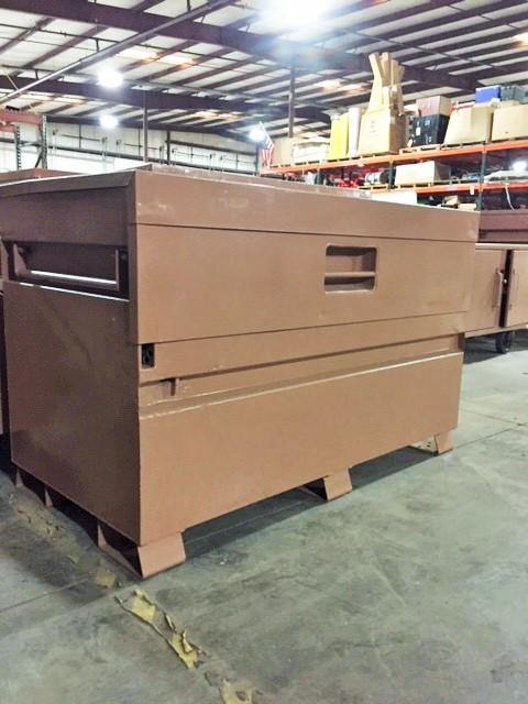 "Knaack 69 StorageMaster 60"" x 30"" x 34"" Piano Style Storage Gang Box- Remanufactureded - General Equipment & Supply"