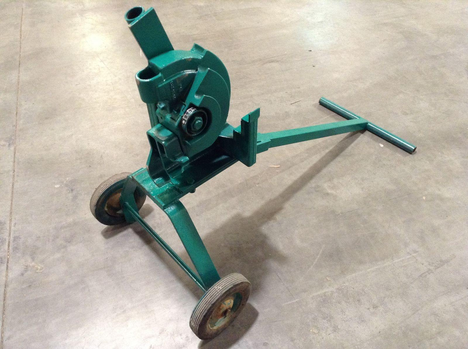 Greenlee 1800 Mechanical Bender for 1/2, 3/4, and 1-Inch IMC/Rigid Conduit Reconditioned