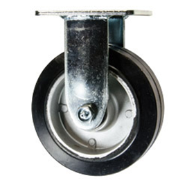 "Casters 6"" rigid & swivel casters set with hardware"